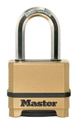 Master Lock 2 in. Keyed Alike Dual Ball Bearing Locking Steel Padlock