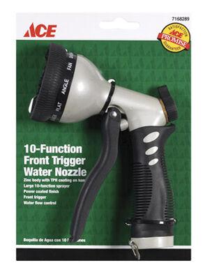 Ace 8 pattern Adjustable Hose Nozzle Zinc