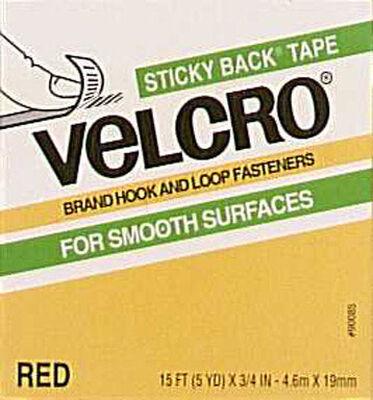 Velcro 15 ft. L x 3/4 in. W Hook and Loop Fastener 1 pk
