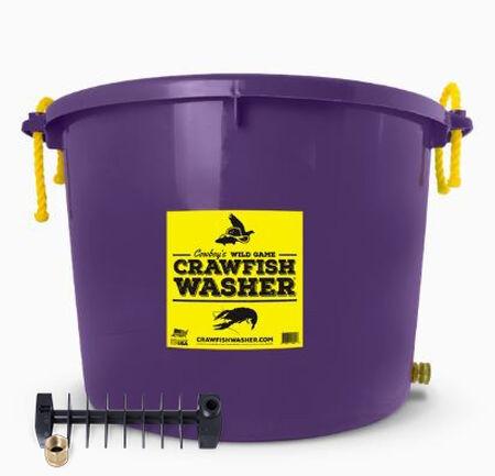 Purple Crawfish Washer