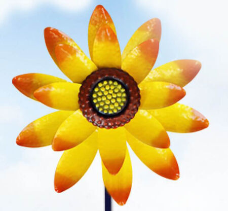 Wind Spinner Sunflower 52""