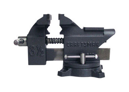 Craftsman 3.5 in. W Steel Bench Vise