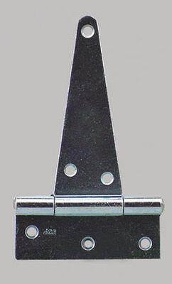 Ace Steel Heavy Duty T Hinge 4 in. L Zinc 1 pk