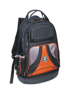 Klein Tools Ballistic Nylon Backpack Tool Bag 20 in. H x 7-1/4 in. W x 14-1/2 in. L 39 inside poc