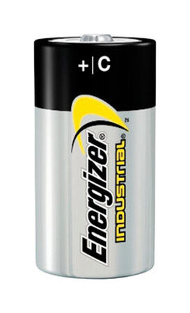 Energizer Industrial C Alkaline Batteries 1.5 volts 12 pk