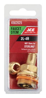 Ace Low Lead Hot 2L-4H Faucet Stem For Sterling