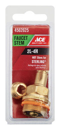 Ace Low Lead Hot 2L-4H Faucet Stem For Sterling
