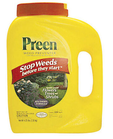 Preen Weed Preventer for Southern Gardens 4.25 lb.