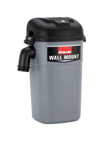 Shop-Vac 5 gal. Corded Wet Dry Wall Mount Vac 4 hp 110 volts Gray