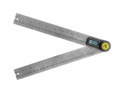 General Tools Digital Angle Finder 10 in. L Stainless Steel