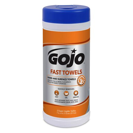 Gojo Fresh Citrus Scent Fast Towels 25 pk