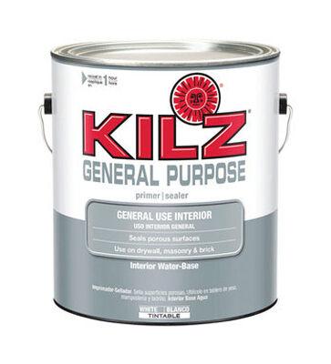 Kilz General Purpose Water-Based Interior Primer and Sealer 1 gal. White