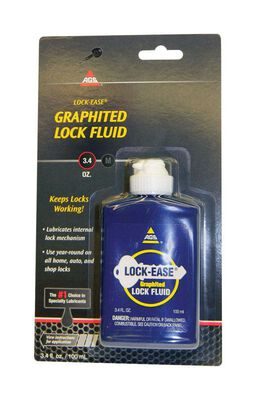 AGS Lock-Ease General Purpose Graphite Lock Fluid 3.4 oz. Carded