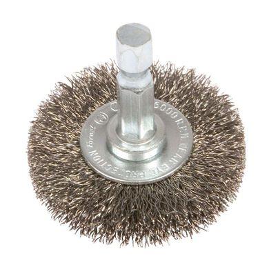 Forney 1-1/2 in. Dia. Fine Crimped Wire Wheel Brush 6000 rpm