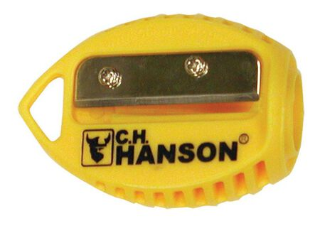 C.H. Hanson Yellow Carpenter Pencil Sharpener