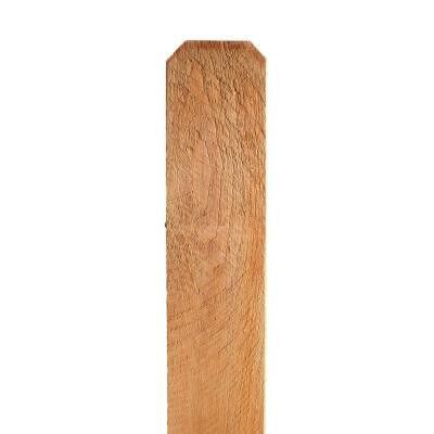 5/8 x 5-1/2 x 6 ft. Premium Cedar Dog Ear Fence Picket