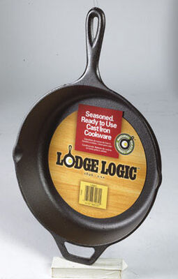 Lodge Logic 10-1/4 in. W Cast Iron Skillet