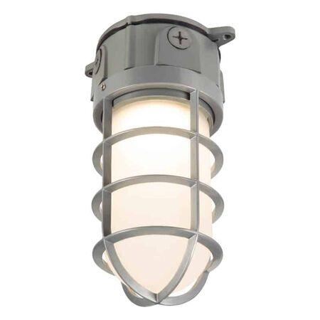 Lumark Vaportight Switch Hardwired LED Gray Area Light
