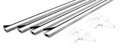 Prime-Line Up to 48 x 48 Frame Screen Frame Kit 3/4 in. W x 3/4 in. L White Aluminum