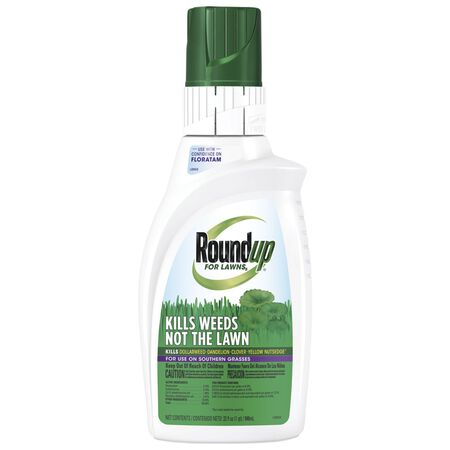 Roundup For Lawns Weed Killer Concentrate Liquid 32 oz.