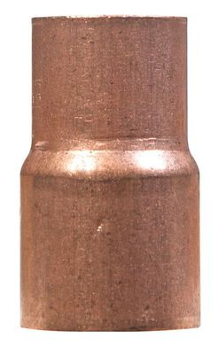 Elkhart 1 in. Dia. x 3/4 in. Dia. Sweat To Sweat To Reducer Copper Reducing Coupling