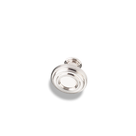 "1-3/8"" Diameter Plain Lafayette Cabinet Knob Satin Nickel"