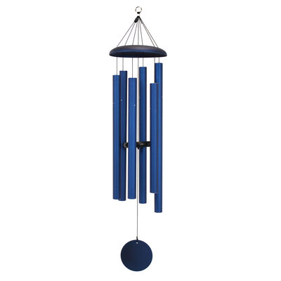 "Corinthian Bells, 50"" Midnight Blue Windchime"