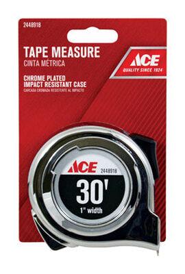 Ace Tape Measure 1 in. W x 30 ft. L