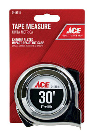 Ace Tape Measure 1 in. W x 30 ft. L