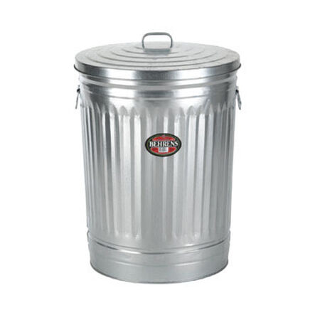 Behrens 31 gal. Galvanized Steel Garbage Can