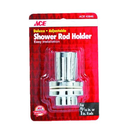 Ace Shower Rod Holder Chrome