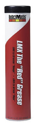 Lubrimatic Red Lithium Farm and Industrial Grease 14 oz. Cartridge