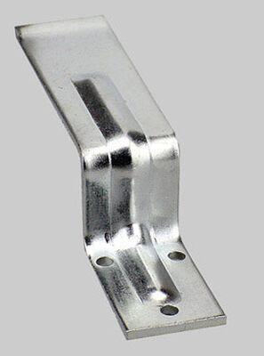 Ace Zinc-Plated Surface mount Open Bar Holder 1 pk