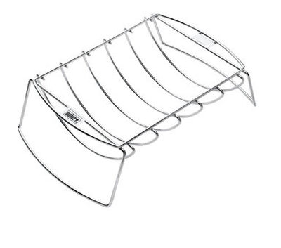 Weber Plated Steel Grill Rib Rack