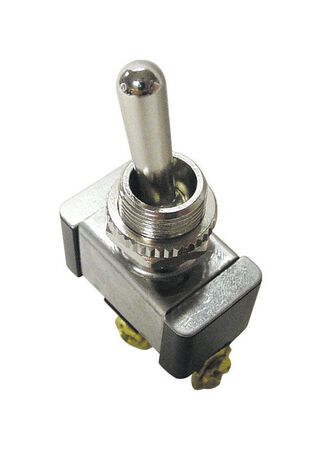 Gardner Bender 20 amps Silver Standard Toggle Toggle Switch Single Pole 1 pk