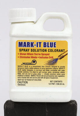 Monterey Mark-It Blue Colorant For Weed Control 1/2 pt.