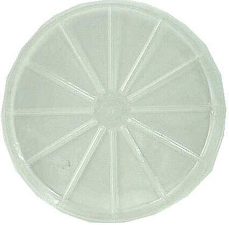 Gardener's Blue Ribbon Clear Resin Plant Saucer 1.9 in. H x 17 in. W