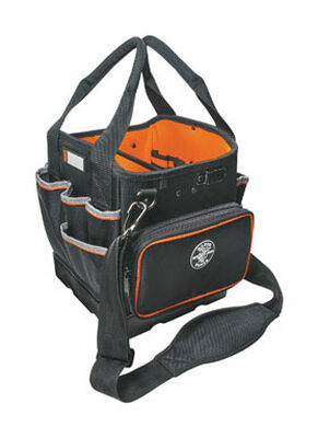 Klein Tools Ballistic Nylon Tote Bag 12-1/4 in. H x 10-1/4 in. W x 10 in. L 40 outside pockets