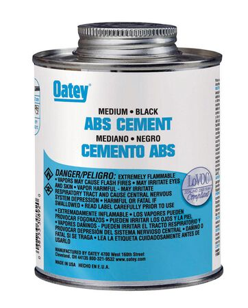 Oatey Black ABS Cement 4 oz.