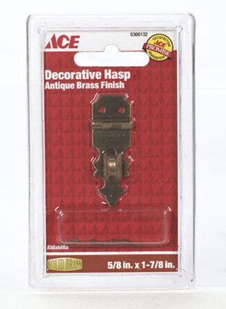 Ace 1 Antique Decorative Hasp