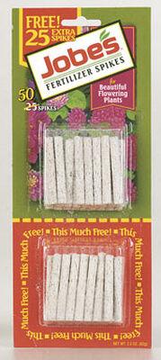 Jobe's Fertilizer Spikes For Flowering Plants 50 pk