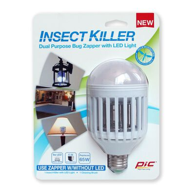 PIC Electric Insect Zapper 855 sq. ft. For Flying Insects