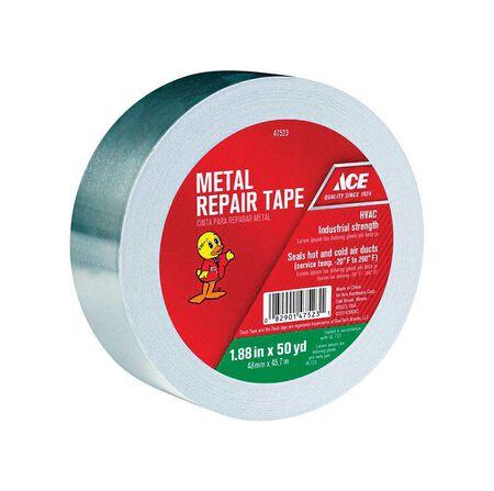 Ace Metal Repair Tape 1.88 in. W x 50 yd. L Silver