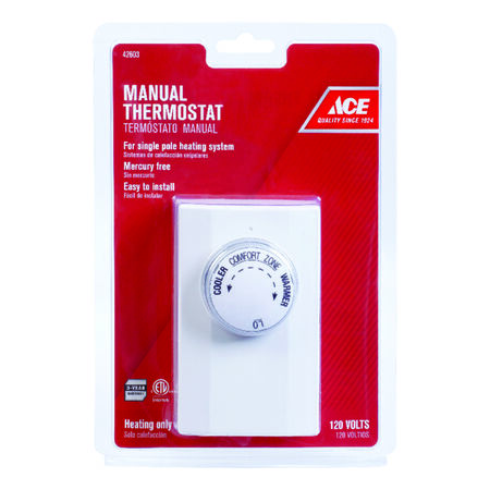 Ace Manual Thermostat