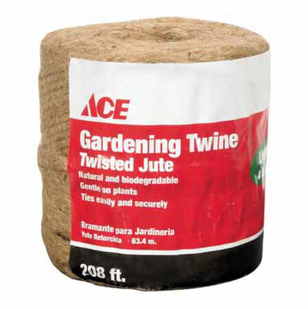 Ace 1/4 in. Dia. x 208 ft. L Jute Twine Natural