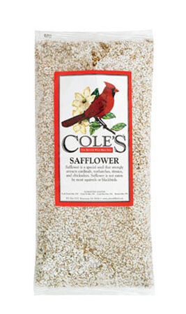 Cole's Assorted Species Wild Bird Food Safflower Seeds 20 lb.