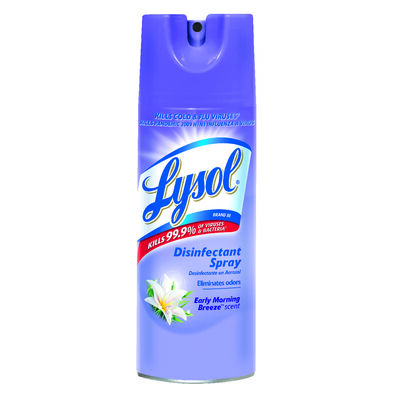 Lysol 12.5 oz. Early Morning Breeze Scent Disinfectant Spray