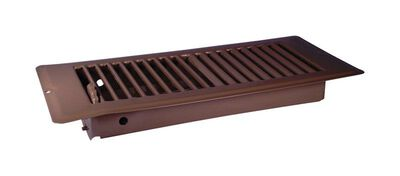 US Hardware RV Deluxe Floor Register 1 pk