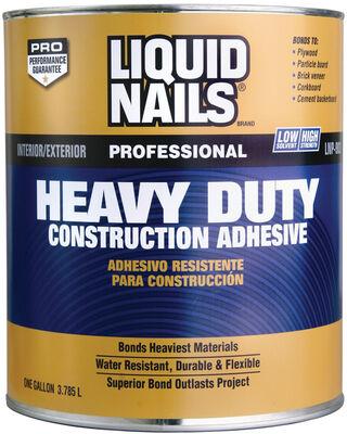 Liquid Nails Heavy Duty Construction Adhesive 1 gal.