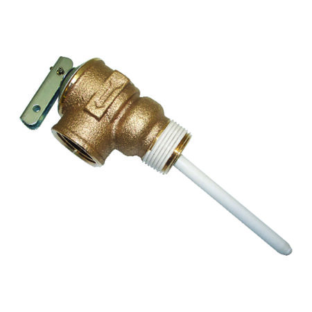 Reliance 3/4 in. Temperature and Pressure Relief Valve Pressure Regulator Valve